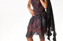 Organdie Kleid Celine
