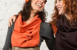 Schal Eifrig orange